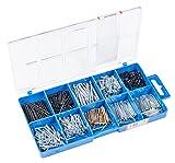 Connex DP8500054 Nägel und Stifte-Sortimentskasten, 485- teilig