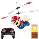 Carrera RC Super Mario - Flying Cape Mario – Ferngesteuerter Hubschrauber für drinnen & draußen – Elektro-Helikopter inkl. Ersatz-Rotorblätter – für Kinder ab 8 Jahren & Erwachsene