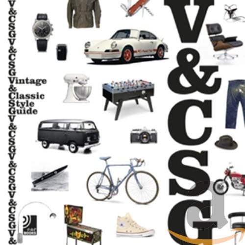 Vintage & Classic Style Guide: Fotobildband inkl. 10' Vinyl (Deutsch, Englisch) (Ear Books)