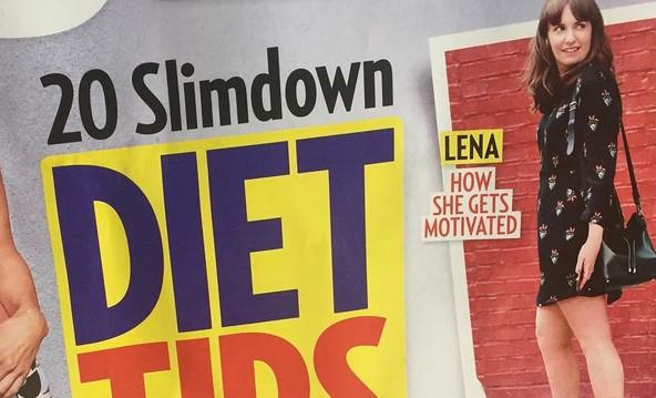 "20 ""Diät-Tipps"" von Lena Dunham © Screenshot / Lena Dunham Instagram"