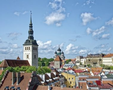Estland Stadt Panorama  -c- Makalu Pixaby-photo