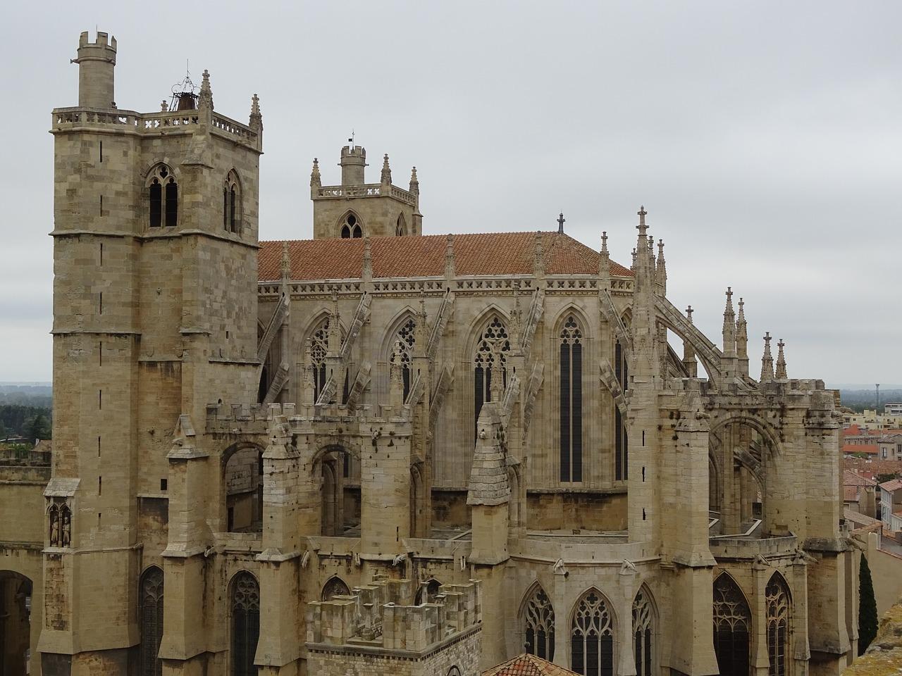 Frankreich Mittelmeerküste, Urlaub, Reise, Narbonne, Kathedrale