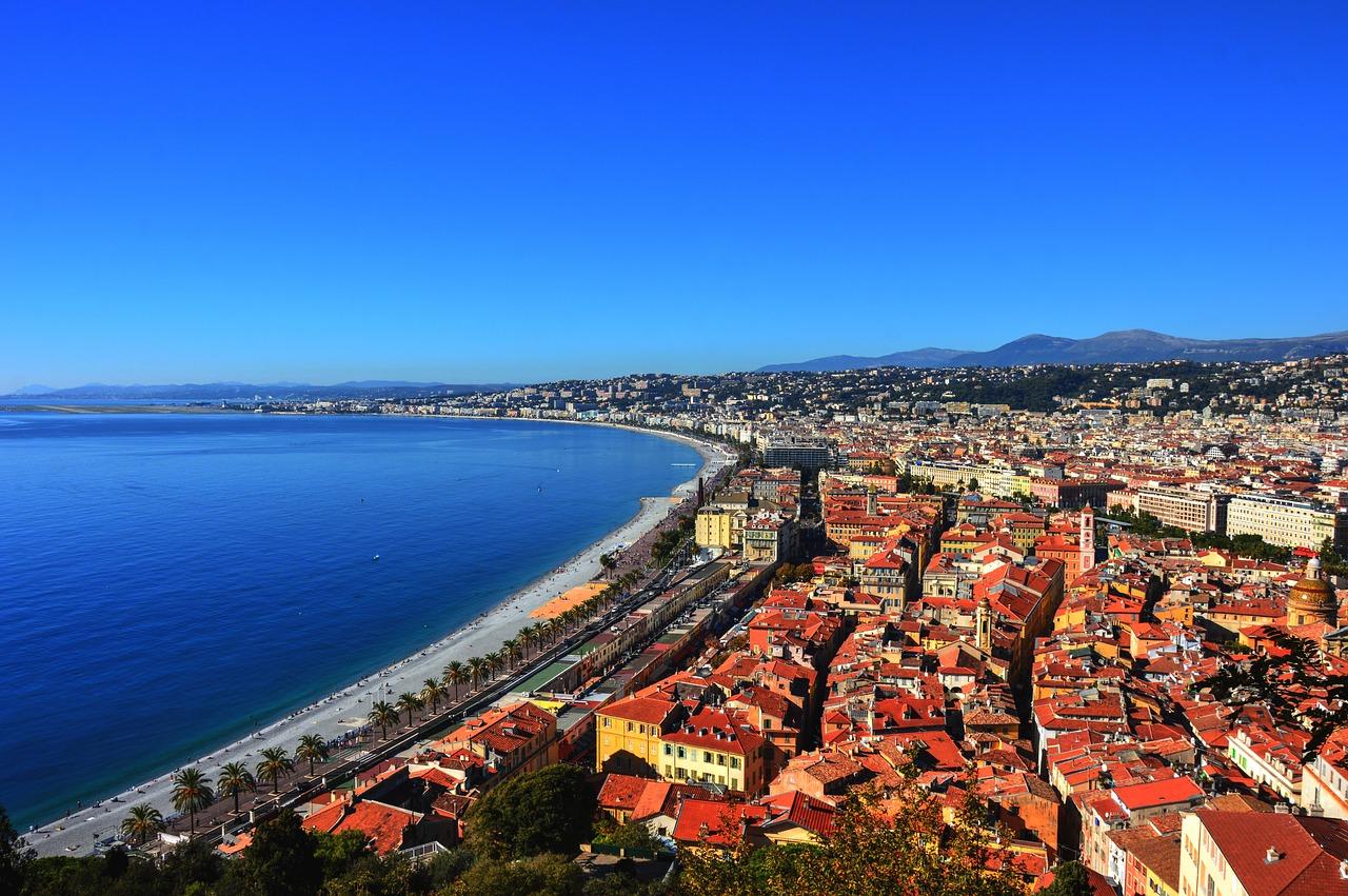 Frankreich Mittelmeerküste, Urlaub, Reise, Cote d'Azur, Nizza