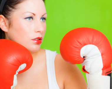 Frauenboxen - stark, schön, provokant