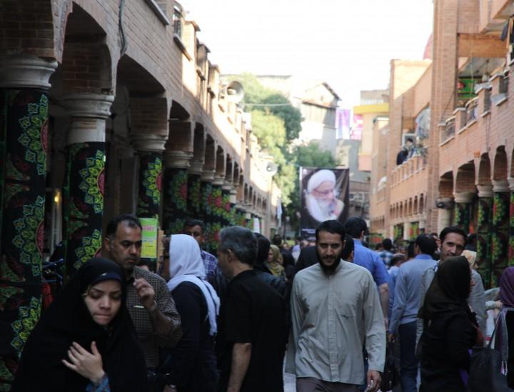 Iran: Reges Treiben auf dem Grand Bazaar in Teheran © SW