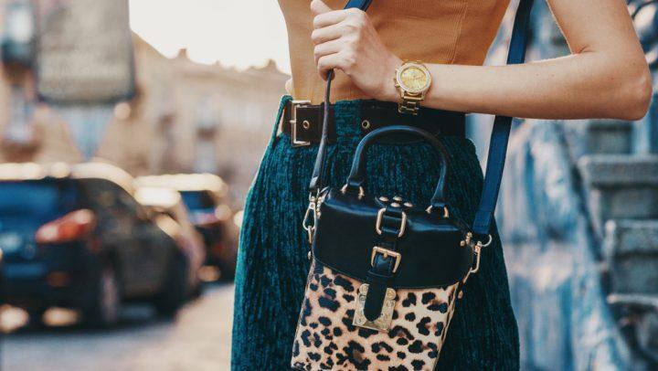 Handtaschen-Trends: Leo-Print © Victoria Chudinova / Shutterstock