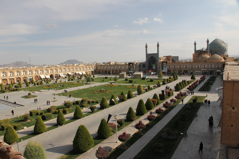 Der Imam-Platz in Isfahan © SW