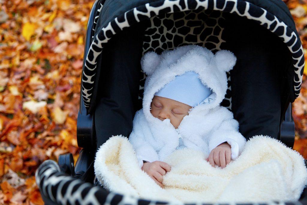 Kinderwagen im Winter, Kinderwagen Baby, erster Kinderwagen, Kinderwagen was beachten