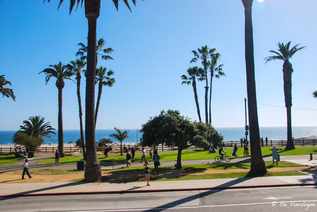 Strand von Los Angeles © the travelogue