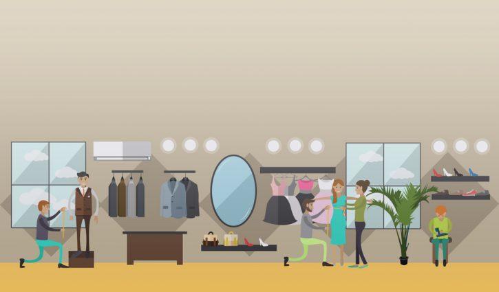 Maßschneider, Maßschneiderin, messen, Maß nehmen, Mode nach Maß, Maßanfertgung, maßgefertigt