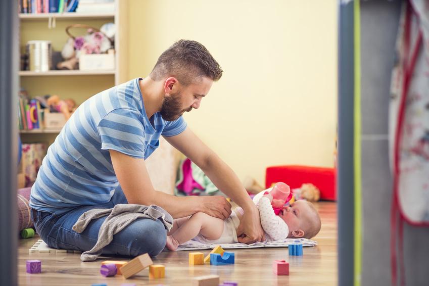 In allen Bereichen involviert: Die modernen Väter © Halfpoint / Fotolia.com