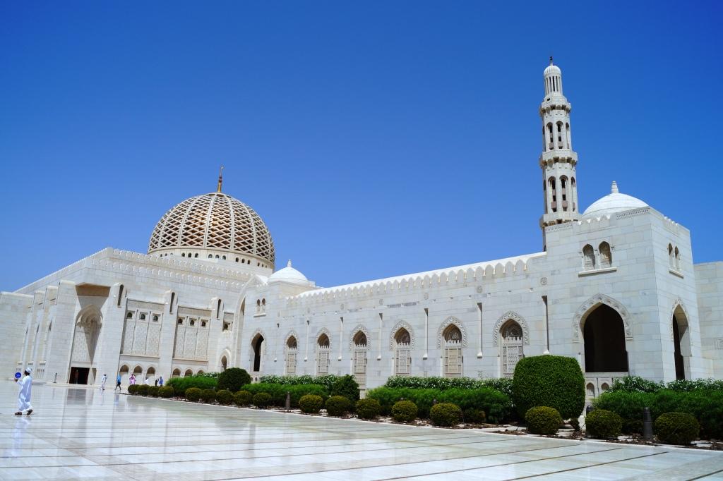 Moschee Sultan Qaboos © ReiseSpatz