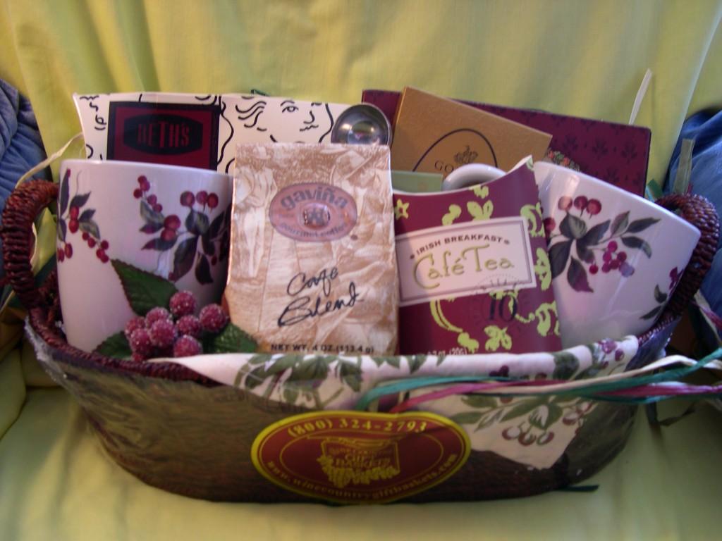 Geschenkkorb, Muttertag, Geschenk, selbstgemacht, zusammengestellt