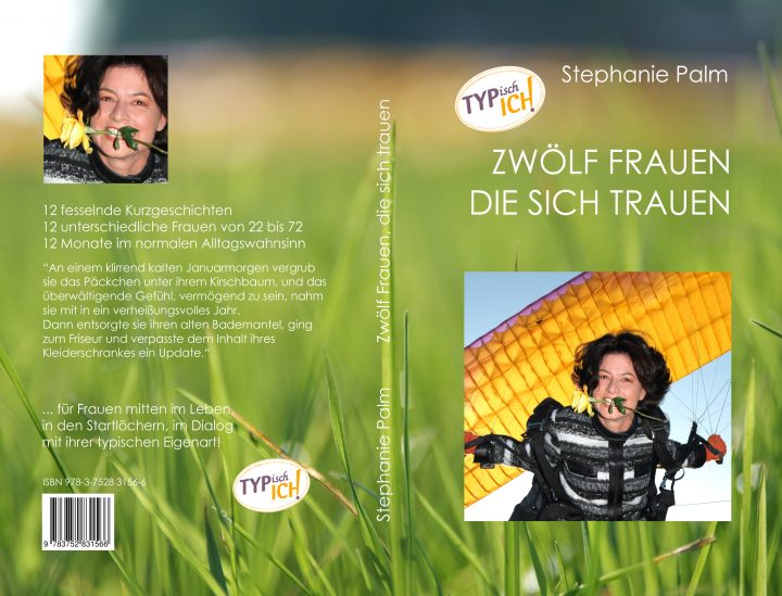 """Buchcover """"Zwölf Frauen die sich trauen"""" © Stephanie Palm"""