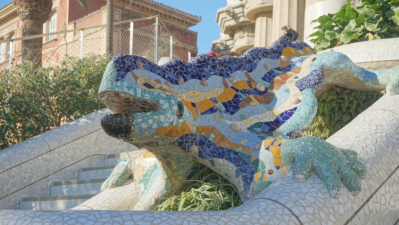 Antoni Gaudí, Architektur, Modernisme, Barcelona