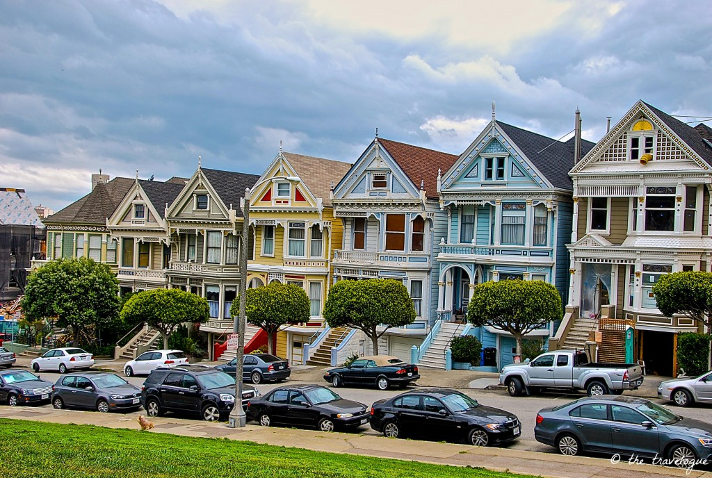 Painted Ladies in San Francisco © the travelogue