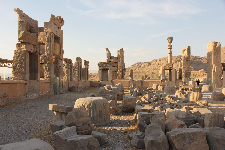 Persepolis - die Hauptstadt des antiken Perserreichs © SW