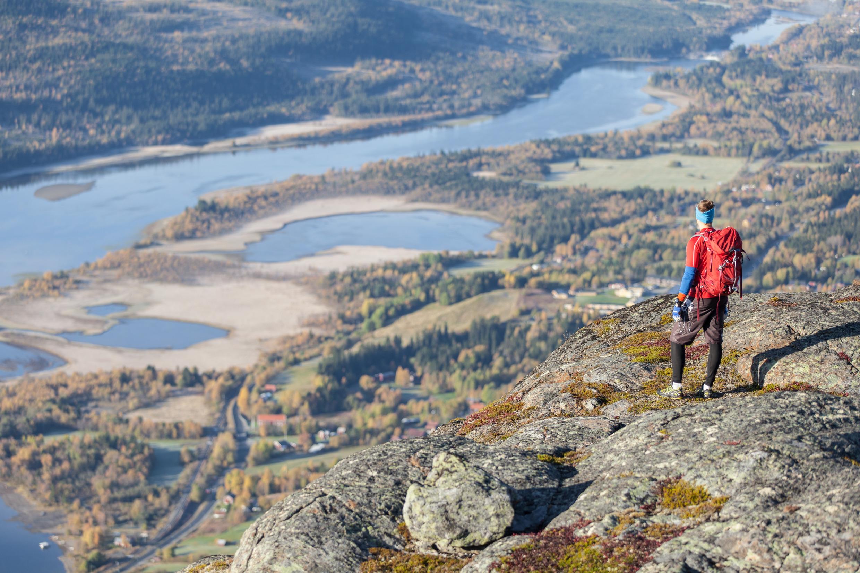 Fjord, Wandern, Trekking, Outdoor in Schweden  Region Åre in Schweden © Niclas Vestefjell imagebank.sweden.se