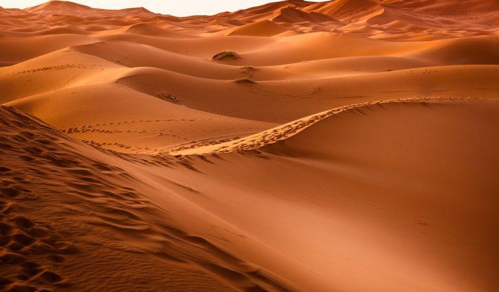 Sahara Dünen, Sahara Wüste