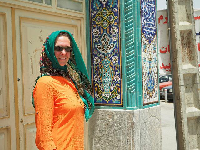 Schick in Isfahan © C. Schaible www.2malweg.eu 2014