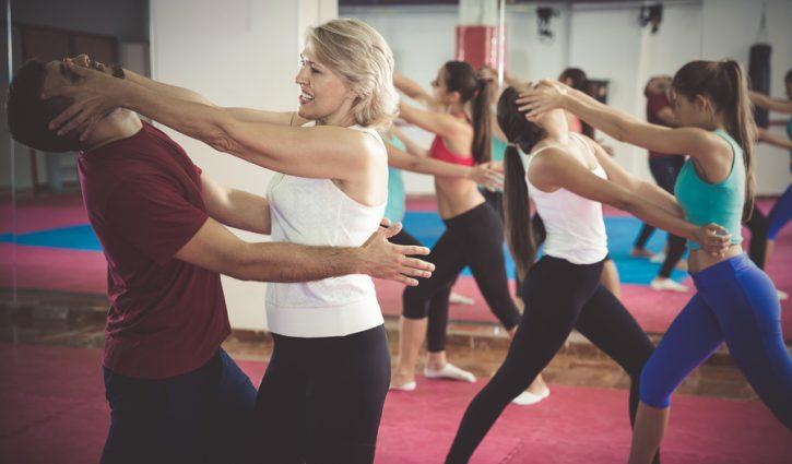 Selbstverteidigung für Frauen, starke Frauen, Frauen, Selbstverteidigung, Trainer