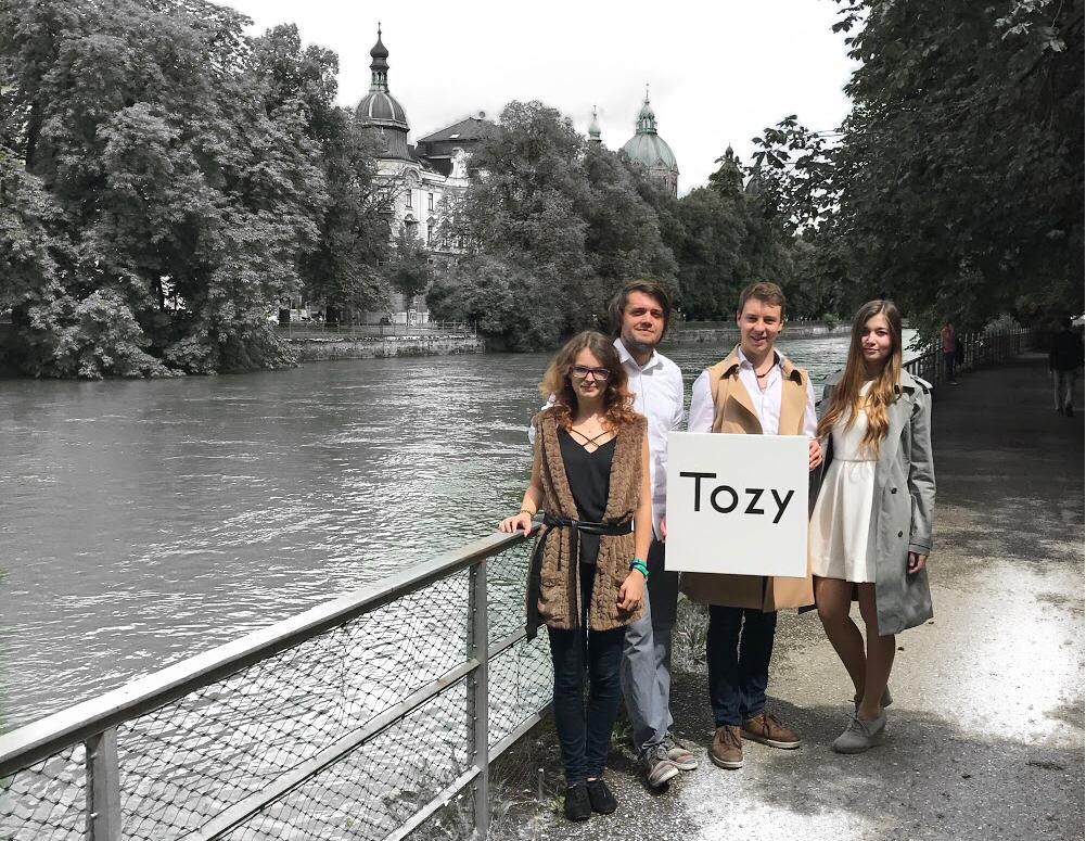 Die Tozy-Gründer © Tozy