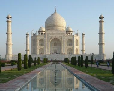 Schöner Anblick auf den Taj Mahal © Fernsuchtblog