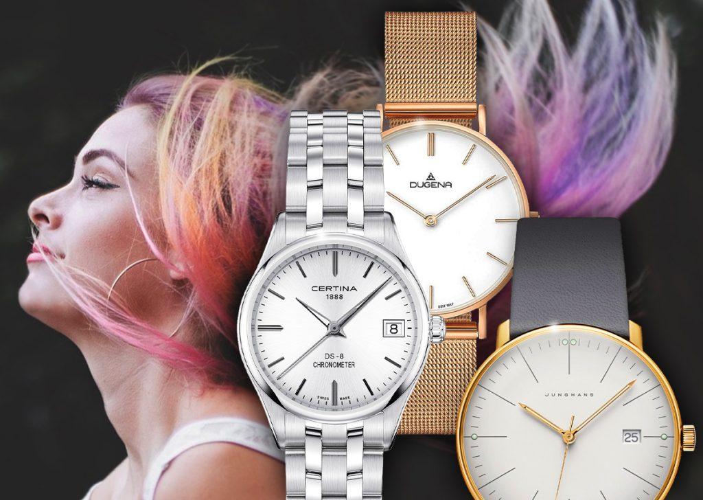 Uhren Metall, Gold Uhr, Silber Uhr, Roségold Uhr, Frauen Uhren, Uhrensammlung