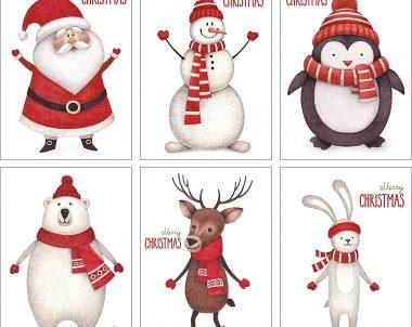Gewinnspiel Weihnachtskarten-Set