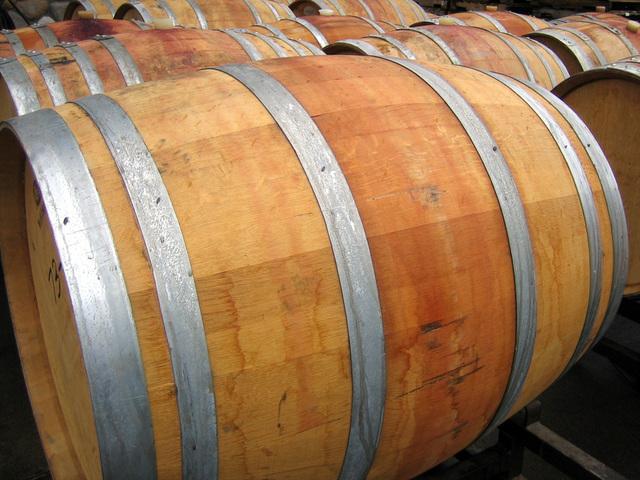 Weinfass Holzfass Eichenholz Wein Rioja