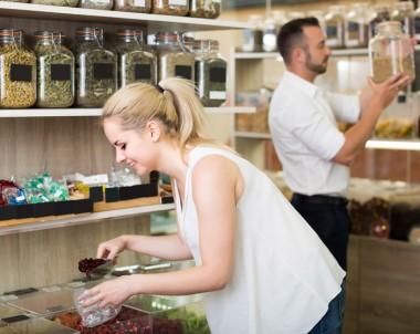 In Zero Waste Shops werden Lebensmittel nicht mehr einzeln verpackt © JackF / Fotolia.com