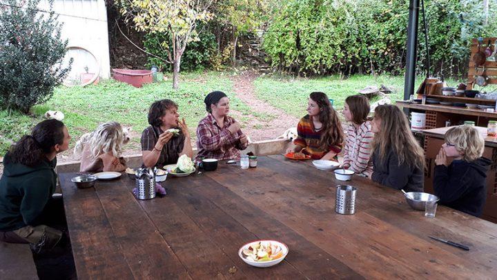 Line Fuks mit ihrer Familie