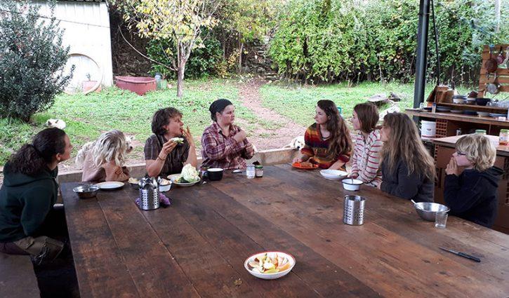 Line Fuks genießt ihr freies Leben mit ihrer Familie in Portugal.