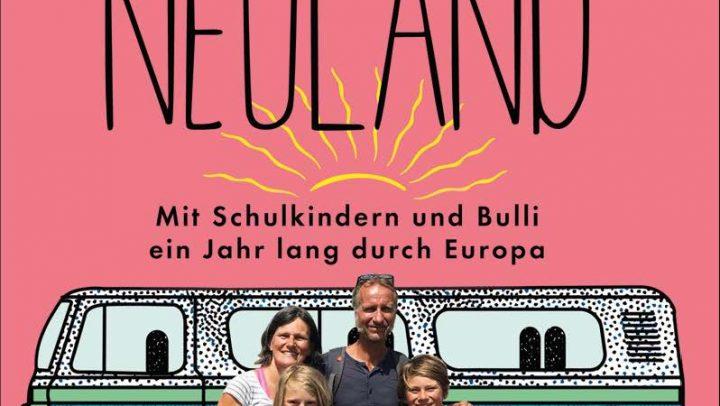 """Das Reise-Abenteuer-Lesebuchs """"Auf nach Neuland"""" von Monika Rech-Heider erscheint am 20.02.2020 im Benevento-Verlag."""