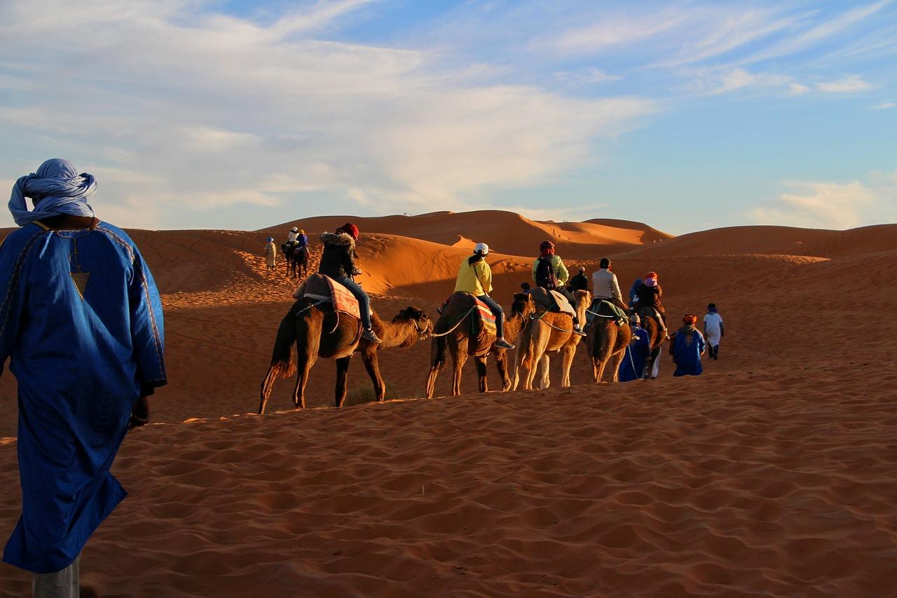 Wüstenurlaub